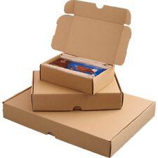 500 Stück Maxibriefkartons 240 x 160 x 50 mm A5 braun Warensendung Postkarton