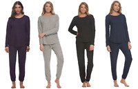NEW! Felina Women's 2-Piece Comfyz Pajama Crewneck Lounge Set VARIETY! F52