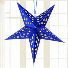 Hot Xmas String Hanging Star Christmas Party Decoration Christmas Tree Ornament