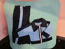 Vintage Fisher Price My Friend Doll First Clothes Cheerleader outfit jacket blue