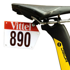 Road Bike Triathlon Race Number Plate Mount Holder Plate Holder Card Bracket
