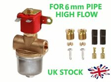 6mm LPG GPL SOLENOID HIGH FLOW ELECTROMAGNETIC SHUT OFF VALVE 12V