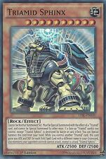YU-GI-OH CARD: TRIAMID SPHINX - SUPER RARE - TDIL-EN030 1ST EDITION