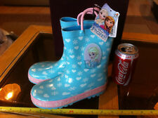 Disney Frozen Elsa Wellies Welly Boots New Shop Soiled Child Size 12 RRP £20