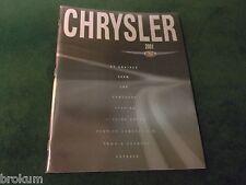 MINT 2001 CHRYSLER FULL LINE 300M LHS SEBRING PT CRUISER SALES BROCHURE (BOX 362