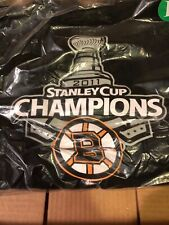 G-III 2011 Stanley Cup Champions BOSTON BRUINS L Hooded Sweatshirt LARGE NWT NEW