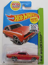 HOT WHEELS 2014 HW WORKSHOP 1974 BRAZILIAN DODGE CHARGER  FACTORY SEALED