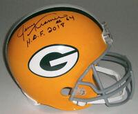 PACKERS Jerry Kramer signed full size helmet w/ HOF 2018 JSA COA AUTO Autograph