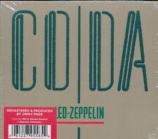 Led Zeppelin Coda Remastered 1-disc CD NEW