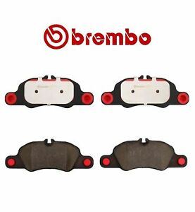For Porsche 718 911 Boxster Cayman Disc Brake Pad Set Front 3.4L BREMBO P65018N