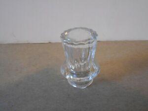 Vintage Clear Glass Percolator Top, lot J