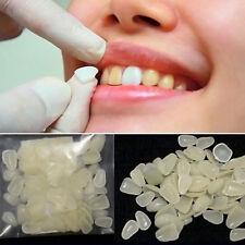 100pcs Dental Ultra-Thin Whitening Veneers Resin Teeth Upper Anterior Aus Shade
