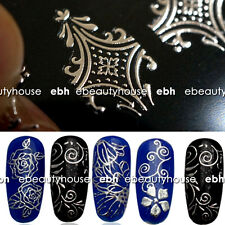 3D Flower Pattern Nail Art Stickers Decals Stamping DIY Decoration #EB-042-03