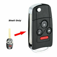 SELEAD Flip Key Fob 4 Buttons Keyless Entry Remote fit for 2008-2015 Honda Accord Pilot Antitheft Keyless Entry Systems KR55WK49308 1pc US Stock