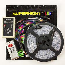 Supernight™ 5M 5050 RGB Dream Color 6803 IC LED Strip Light 133 Change RF Remote
