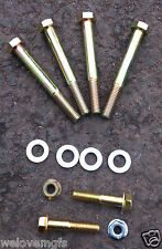 NEW MGF/MGTF/MG TF Pair of Front Lower Wishbone Link Arm Fitting Kit