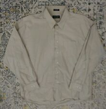 Joseph & Feiss Mens 17.5 34/35 Long Sleeve Button Up Shirt in Flawless Cond. A5
