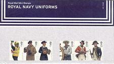 2009 GB, 'Royal Navy Uniforms', Royal Mail Presentation Pack (No.431)