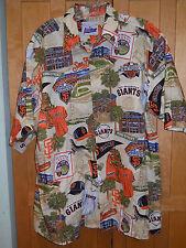 Mens Reyn spooner San Francisco giants hawaiian shirt, M
