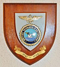 British Pensacola Veterans Association plaque shield crest