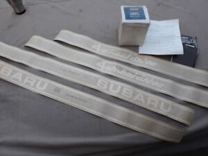 1978 Subaru 4dr 4WD Partial NOS Side Stripe Kit