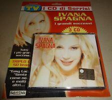 """IVANA SPAGNA - RARO BOX 3 CD CELOPHANATO """" I GRANDI SUCCESSI """""""