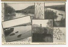 (0048)  1907 PRIVATE P/C  SCENES AROUND MOOSE JAW SASK.UNUSED