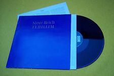 Steve Reich – Tehillim (EX/M-) SPAIN edit insert ECM 1984  LP  ç