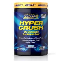 MHP HYPER CRUSH Pre Workout Energy, Power, Pump - 30 Servings BLUE ICE