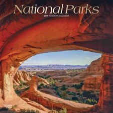 2019 National Parks Wall Calendar,  by BrownTrout