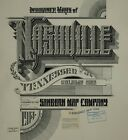 Nashville, Tennessee Sanborn Map© sheets~107 maps in color, tiff to PDF