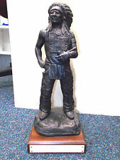 OA BOY SCOUT INDIAN CHIEF Statue Award, 15 inch tall, LEADERSHIP Recognition