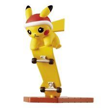 S1 Re-Ment Pokemon Pikachu Mini Figure Collection  ピカチュウ Skateboard & Xmas Hat