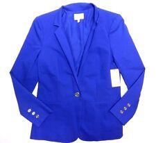 $99 NEW - WOMENS purple blazer JACKET = CHAUS NEW YORK = SIZE 6 = AA65