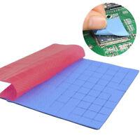 Eg _ 100 Pièces 10x10x1mm Thermique Pad Gpu Dissipateur de Chaleur
