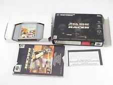 Nintendo N64 Star Wars episodio 1 Racer BOXED PAL V2