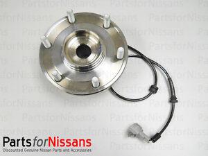 NEW OEM Genuine Nissan Titan Armada 2004-2007 2WD Front Wheel Hub and Bearing
