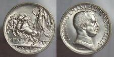 REGNO D'ITALIA 1 LIRA 1917 QUADRIGA  DI  ALTA QUALITA'  (PERIZIA) ITALY