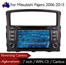 "7"" Car DVD Player Nav GPS Stereo Radio For Mitsubishi Pajero 2006-2015"
