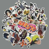 63pcs/lot Japan Anime Naruto Stickers Sasuke Gaara Katara Sticker For Kids Toys