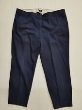 J Crew Size 14 Skimmer Pants Navy Blue City Fit Stretch 36 x 25