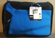 "New Sony VAIO Notebook Carrying Case Neoprene Blue, Fits 11.6""."