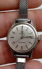 Omega Seamaster Stainless Ladies Wind-up Wristwatch Watch