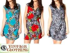 Cotton Petite Floral Tunic Dresses for Women