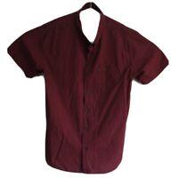 Ripcurl Men's Short Sleeve Check Button Up Shirt Size XXL