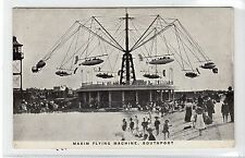 MAXIM FLYING MACHINE, SOUTHPORT: Lancashire postcard (C9471)