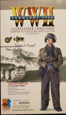 "DIETRICH KOPPE WW II GERMAN JAGFPANTHER COMMANDER ""NORMANDY 1944""  ACTION FIGURE"