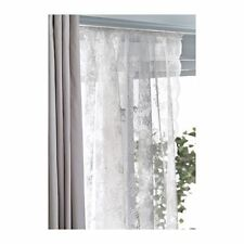 IKEA ALVINE SPETS Net Curtains Off White Pair 145cm x 250cm each
