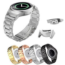 2018 Stainless Steel Watch Band + Adapter Connector for Samsung Gear S2 R720 USA