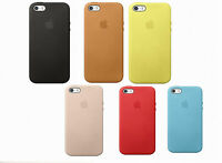 Original Apple iPhone 5 5s SE Leder Case MF045FE/A MF041FE/A Schutz Hülle Tasche